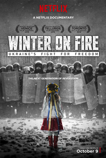 plakat filmu Winter on fire